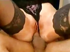 hot classic threesome part1