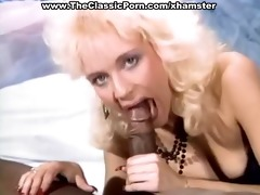 blonde mouth filled with stiff schlong