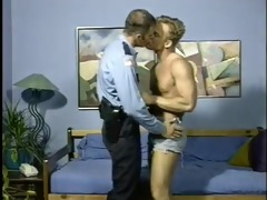 cop & boyfriend have sex