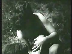 vintage - the voyeur in the woods