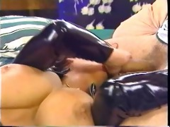 anal fuck in thigh boots!