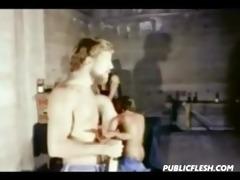 retro gay leather sadomasochism biker bar
