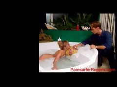 youthful rocco siffredi shaving blond sandy!