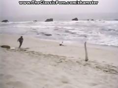 hard vintage sex on a beach