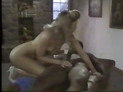 young blonde white woman with older black man -