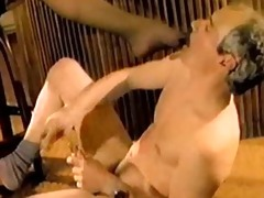 breasty wife drilled by black knob