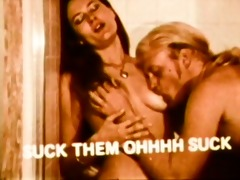 vintage: pair have erotic sex