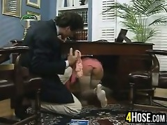breasty slut fucked by the boss