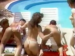 fisting fuckfest by the pool