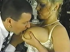 vintage chubby golden-haired with biggest milk