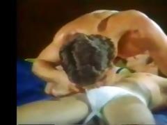 vintage wrestlers fuck bareback in otc tube socks