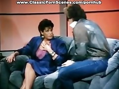 concupiscent ebony chick fucked