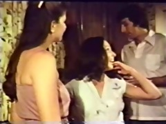 vintage fingering and blowing