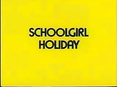 a schoolgirls holiday