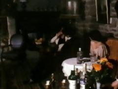 vintage fuck in the restaurant