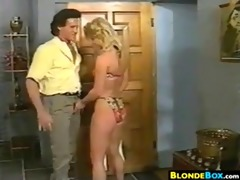 golden-haired babe getting fucked