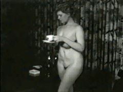 saucy smokin milf from 1950s