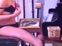 vintage lady-man masturbation- by tlh