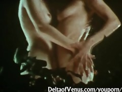 vintage lesbian babes 1970s - wet, hairy, &