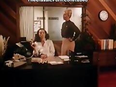 sexy lady has a fuck in classic porn movie scene