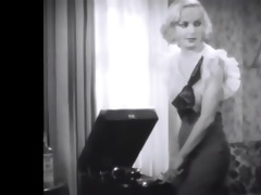 carol lombard in a nice watch through blouse