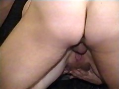 aged vid doggie cum on her fat ass!