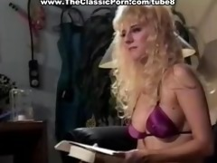 sex with marvelous bimbo from 1980 porn