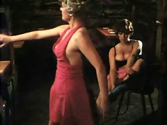 breasty girl from threesome german clip