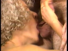 classic sex scene in front of the bar