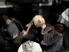 dp virgins double penetration diner - scene 1