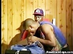 sexy black boyz cock engulfing