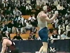 hidden camera at college wrestling meet