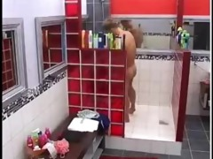 hot b brother guy shower and jerk