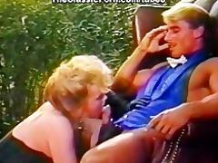 lewd dominant-bitch fuck in the garden