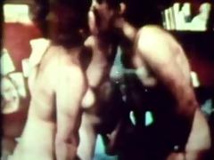 raunchy vintage lesbian fuckfest shoving up large
