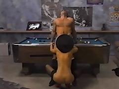 cougar pool gangbang