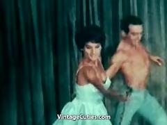 naked ballerina dancing with her partner