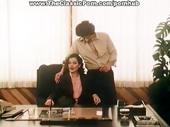 office fuck episode with vintage pornstars