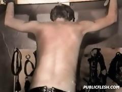vintage homosexual bondage spanking