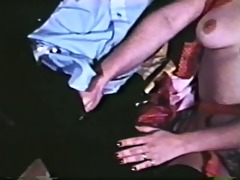 king paul bonks chick in red garters