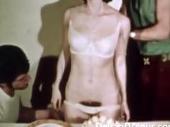 vintage porn 1970s bushy muff brunette cheerful