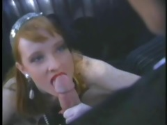 a good old fashioned dp for redhead flame
