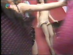 girls striptease in lingerie