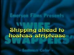 hawt wifes striptease: wife swappers (1965