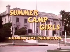 vintage - summer camp angels