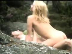 enjoyable retro outdoor fucking