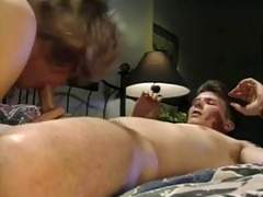 vintage cd crossdresser shows how to please a cock
