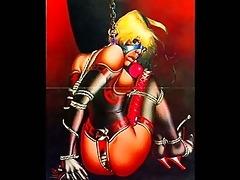 classic male slavery artwork