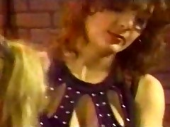 retro lesbo group thrashing