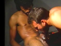 al sucks huge pumped darksome dick